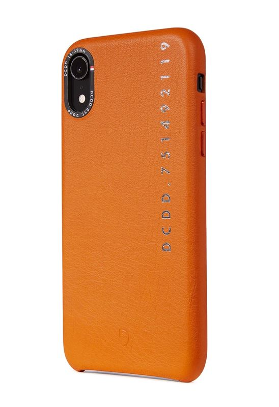 Decoded Leather Back Cover, orange - iPhone XR