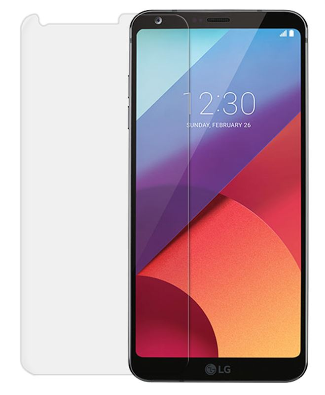 Odzu Glass Screen Protector, 2pcs - LG G6