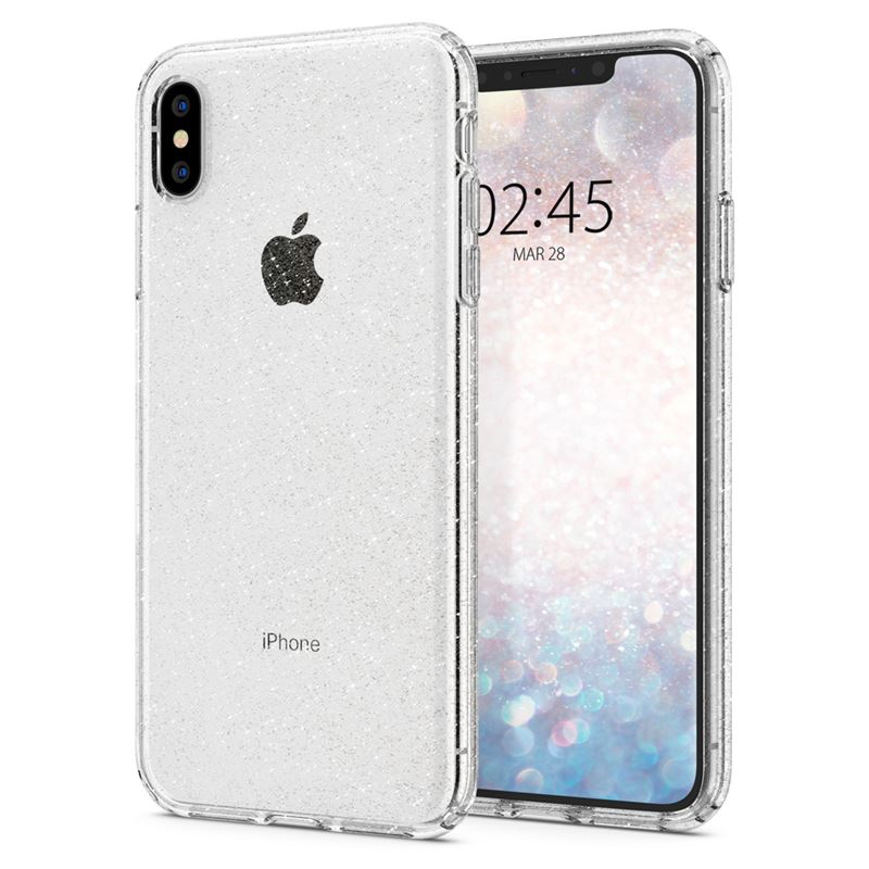 Spigen Liquid Crystal Glit, crystal -iPhone XS Max
