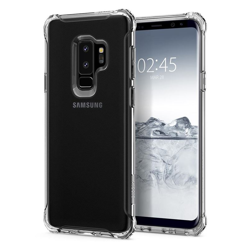 Spigen Rugged Crystal, clear - Galaxy S9+