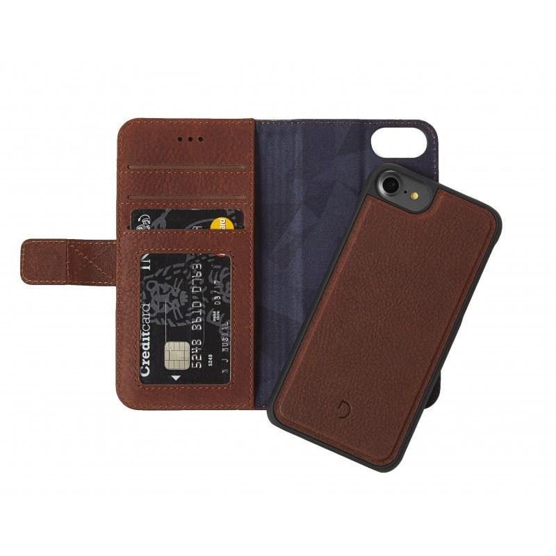 Decoded Leather 2in1 Wallet C.,brown-iPhone 8/7/6s