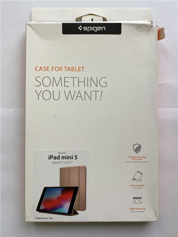Spigen Smart Fold Case, r. gold - iPad mini 5 2019