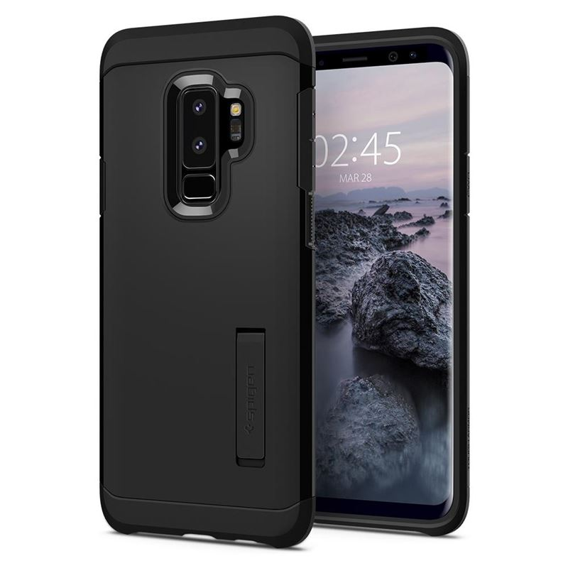 Spigen Tough Armor, black - Galaxy S9+