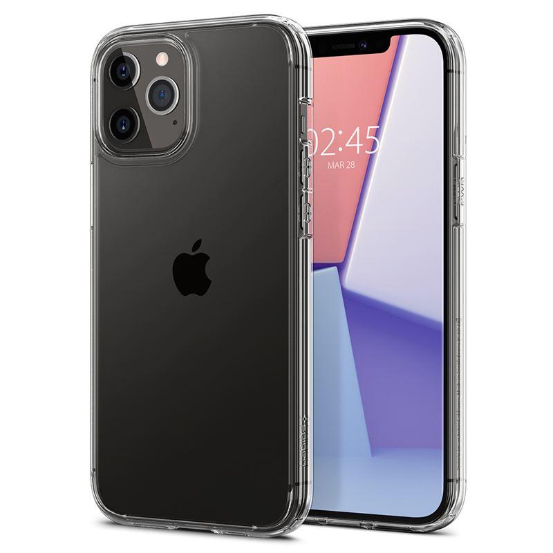 Spigen Crystal Hybrid, clear - iPhone 12 Pro Max