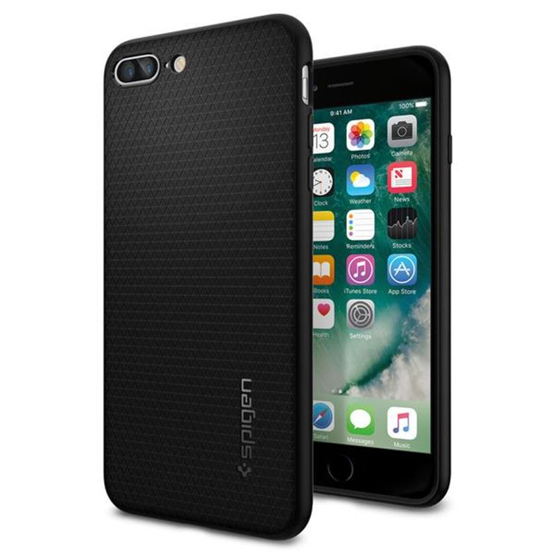 Spigen Liquid Air, black - iPhone 8+/7+