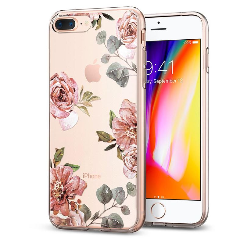Spigen Liquid Crystal Aquarelle, rose-iPhone 8+/7+