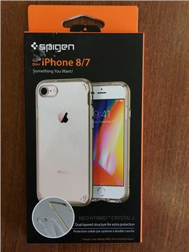 Spigen Neo Hybrid Crystal 2, gold - iPhone 8/7