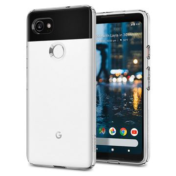 Spigen Liquid Crystal, clear - Pixel 2 XL