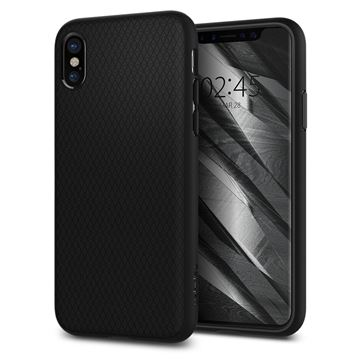 Spigen Liquid Air, black - iPhone X