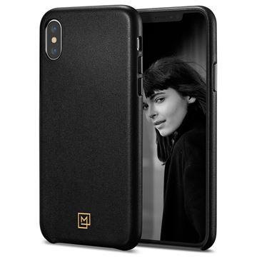 Spigen La Manon Câlin, black - iPhone XS/X