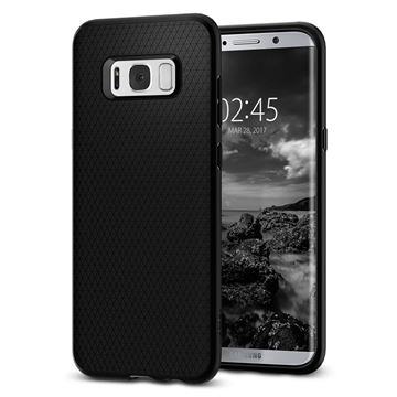 Spigen Liquid Air, black - Galaxy S8