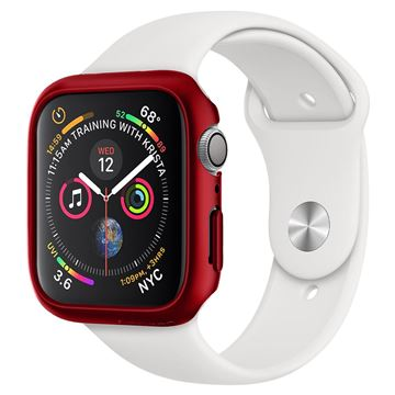 Spigen Thin Fit, red - Apple Watch 5/4 44mm