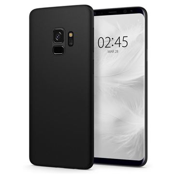 Spigen Air Skin, black - Galaxy S9