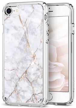 Spigen Ultra Hybrid 2 Marble, white - iPhone 8/7