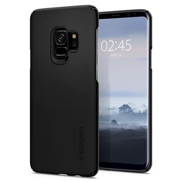 Spigen Thin Fit, black - Galaxy S9