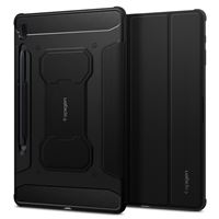 Spigen Rugged Armor Pro, black-Galaxy Tab S7 FE/5G