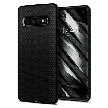 Spigen Liquid Air, matte black - Galaxy S10