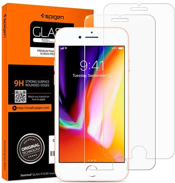 Spigen Glas.tR SLIM 2 Pack - iPhone 8/7