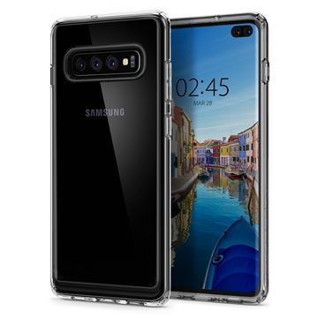 Spigen Ultra Hybrid, crystal clear - Galaxy S10+