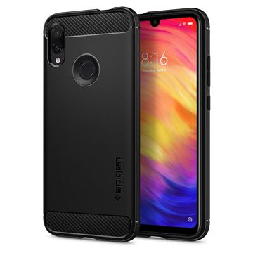 Spigen Rugged Armor, black - Redmi Note 7/7 Pro