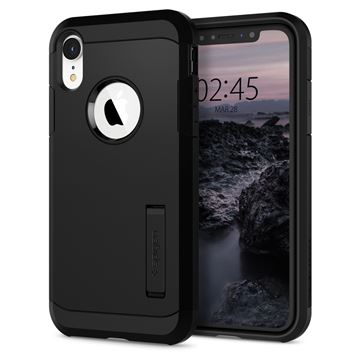 Spigen Tough Armor, black - iPhone XR
