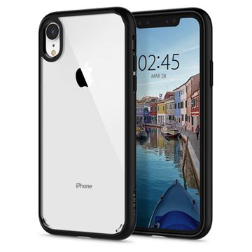 Spigen Ultra Hybrid, matte black - iPhone XR