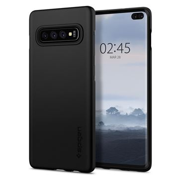 Spigen Thin Fit, black - Galaxy S10+