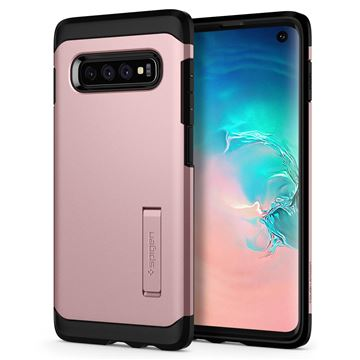 Spigen Tough Armor, rose gold - Galaxy S10