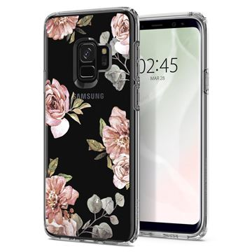 Spigen Liquid Crystal Blossom, flower - Galaxy S9