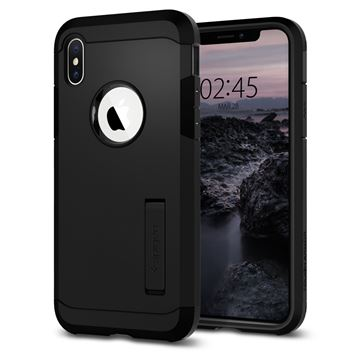Spigen Tough Armor, black - iPhone XS/X