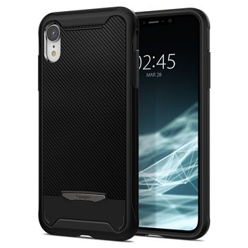 Spigen Hybrid NX, black - iPhone XR