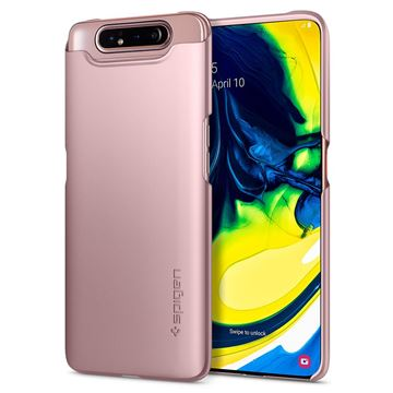 Spigen Thin Fit, rose gold - Galaxy A80