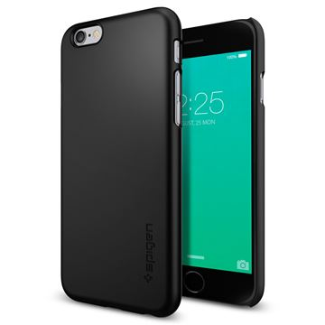 Spigen Thin Fit, black - iPhone 6/6s