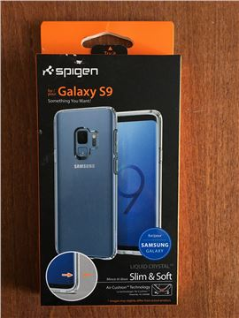 Spigen Liquid Crystal, clear - Galaxy S9