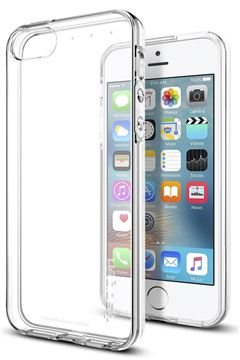 Spigen Liquid Air, clear - iPhone SE/5s/5