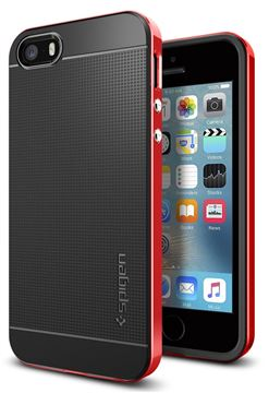 Spigen Neo Hybrid, dante red - iPhone SE/5s/5