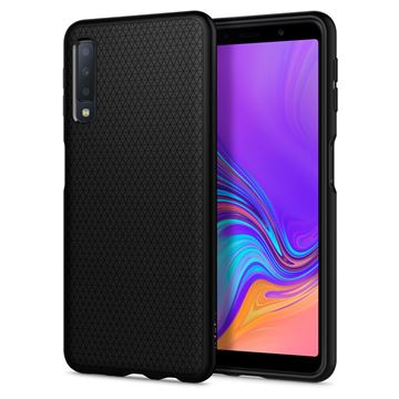 Spigen Liquid Air, matte black - Galaxy A7 2018