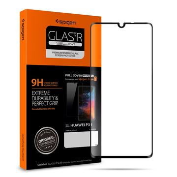 Spigen Glass FC HD, black - Huawei P30