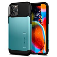 Spigen Slim Armor, mint - iPhone 12/Pro