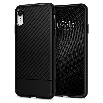 Spigen Core Armor, black - iPhone XR