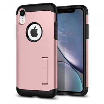 Spigen Slim Armor, black - iPhone XR