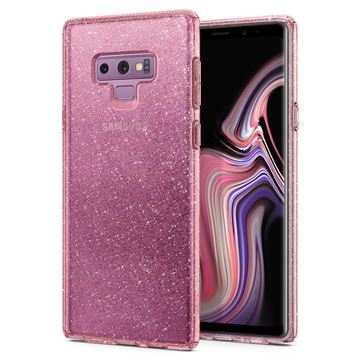 Spigen Liquid Crystal Glitter, rose -Galaxy Note 9