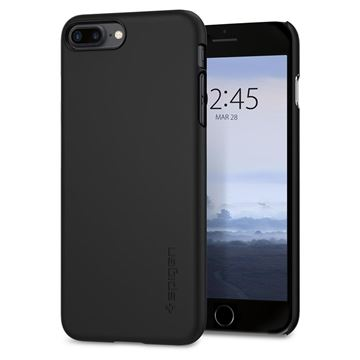 Spigen Thin Fit, black - iPhone 8+/7+