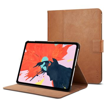 Spigen Stand Folio, brown - iPad Pro 12.9