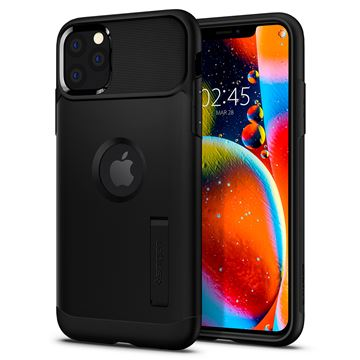 Spigen Slim Armor, black - iPhone 11 Pro
