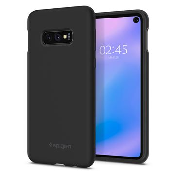 Spigen Silicone Fit, black - Galaxy S10e