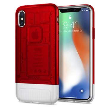 Spigen Classic C1, ruby - iPhone X