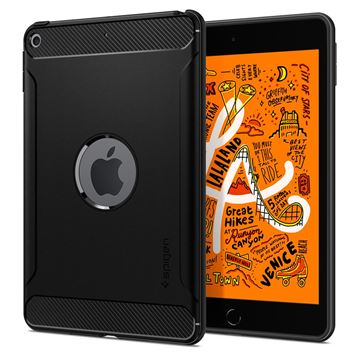 Spigen Rugged Armor, black - iPad mini 5 2019