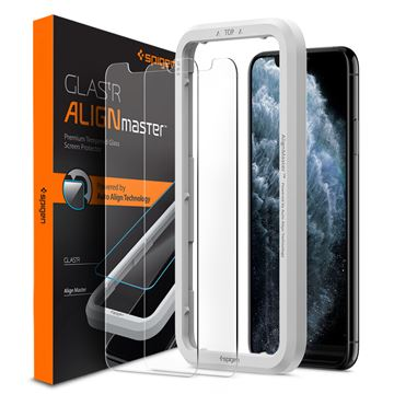 Spigen Align Glas.tR 2 pack - iPhone 11 Pro/XS/X