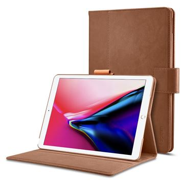 Spigen Stand Folio case, brown - iPad Pro 10.5
